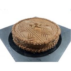 Tarta de Galleta y Chocolate.